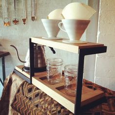 Dual pour over station. on Etsy, $400.00