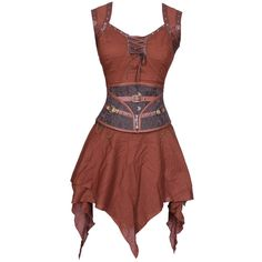 Squeezy Tone Corset Belt dress (315 BRL) ❤ liked on Polyvore featuring dresses, costume, short dress, short dresses, red dress, short long dresses, mini dress and red corset dress