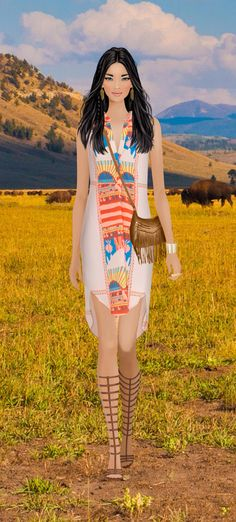 Covet Fashion Game Pocahontas