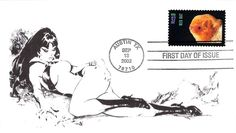 2002 Red Bat First Day Cover - Vampirella Add-on