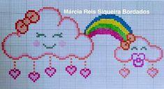 Cross Stitch For Kids, Cute Cross Stitch, Cross Stitch Designs, Cross Stitch Patterns, Kandi Patterns, Perler Bead Art, Animal Crossing Qr, Plastic Canvas Patterns, Baby Disney
