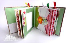 Silvia Scrap: Tutorial 56 en Latinas Arts & Crafts. Un Mini album con Rocio Cano