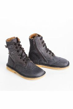 Pepe Dark Grey Prairie Boots