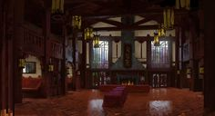 robertkondo:From Monsters University, first design pass for the ROR interior