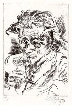 Ludwig Meidner Karl Hofer, Ludwig Meidner, Hans Thoma, Willem De Kooning, Magic Realism, Harlem Renaissance, Auguste Rodin, Paul Cezanne, Jewish Art