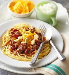 Cincinnati-Style Chili. More chili recipes: http://www.midwestliving.com/food/soups/chili-recipes/page/6/0