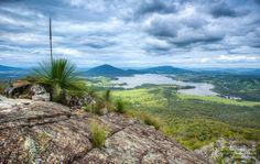 Lake Moogerah from Mount Greville, Moogerah Peaks National Park, South-East QLD