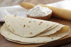 Tortillas de harina de trigo http://www.pinterest.com/morrazo/masas/