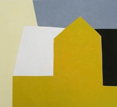 Norwegian painter Hanne Borchgrevink, a master at distilling this notion of house in both color and form, has explored this shape in her paintings for many years. #house