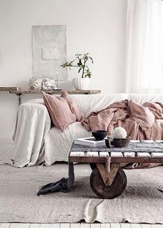 Ref - luminosité avec intégration table basse industrielle  Le salon du dimanche   PLANETE DECO a homes world   Bloglovin'