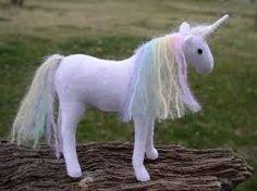 Waldorf unicorn toy