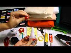 Dicas para iniciantes e material que eu uso: feltro, linhas, agulhas, colas...