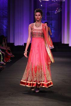 Pretty anarkali  Aamby Valley Bridal Fashion Week 2012 ~ JYOTSNATIWARI - Fashion Blog - For All Things Beautiful - The Purple Window