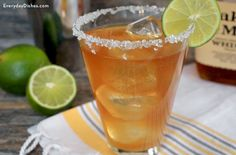 Even if you're not a fan of bourbon, you'll love this Nor'easter cocktail with fresh ginger and lime!