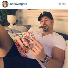 Excited to announce our fall cover girl @sofiavergara! Happy to see that @joemanganiello is enjoying it too! Visit http://ift.tt/1Je3e9w to see more exclusive features! #sofiavergara #msweddingssofia #marthaweddings via @angela4design