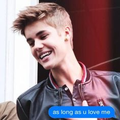 Imagine getting a Text from Justin