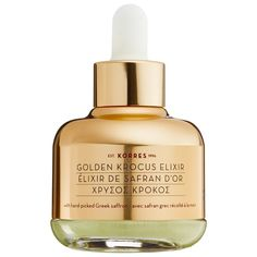 Pin for Later: 22 Exciting New Beauty Launches You Need to Try This May Korres Golden Krocus Ageless Saffron Elixir Serum