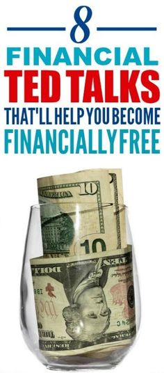 These financial ted talks are really amazing! I'm happy I found these ted talks on money! Now I have some great money tips and ways to become financially free.