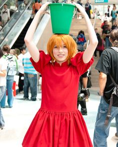Ponyo cosplay OMG OMG OMG I LOVE THIS!