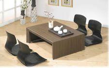 Japanese Floor Chairs Tatami Reclining Zaisu Seat Sitting Black
