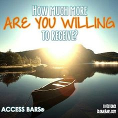 How much more are you willing to receive?