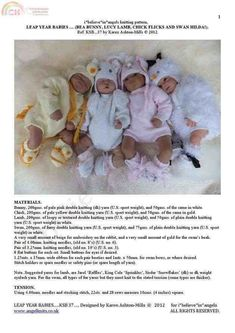I believe in angels KSB37 Leap year babies-Knitting and Crochet Communication-Knitting Patterns-PinDIY -