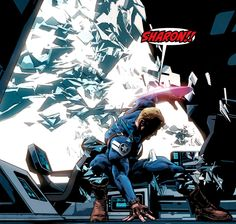 Steve Rogers by Mike Deodato Jr.