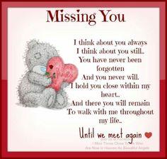 """♥ Tatty Teddy ~ """"Missing You"""" ♥"""