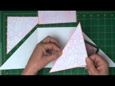 Cross Over Card Tutorial ( card-making-magic.com) love her tutorials!
