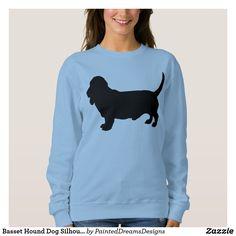 Basset Hound Dog Silhouette