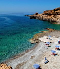 Filaki Beach in Crete, Greece