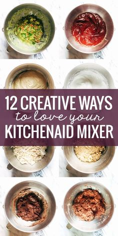 12 Creative Ways to Use a KitchenAid Mixer, from bread to guacamole to shredded meat and more! 12 Creative Ways to Use a KitchenAid Mixer, from bread to guacamole to shredded meat and more! Kitchen Aid Recipes, Kitchen Aid Mixer, Kitchen Taps, Kitchen Cabinets, Kitchen Ideas, Kitchen Dining, Dining Room, Cooking Tips, Cooking Recipes