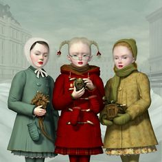 Ray Caesar, We Three Kings - The Trouble with Angels, Dorothy Circus Gallery