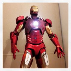 "NECA 18"" Marvel Advengers Iron Man Mark VII Tony Stark 1/4 Figure"