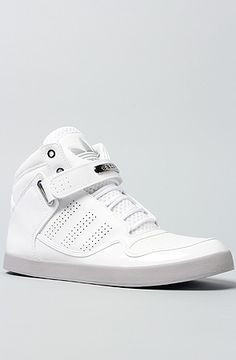 The AR 2.0 Sneaker in White & Aluminum by adidas