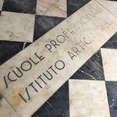 "312 Likes, 1 Comments - Tipoteca Italiana (@tipotecaitaliana) on Instagram: ""Istituto Artigianelli, Venice. Inscription on the floor."""