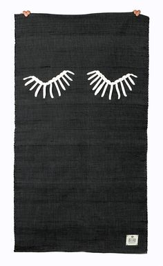 RUG by GUR / Art by Catarina Carreiras / Proud to be a rug in black