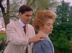 """Anne of Avonlea (1987) is a Canadian mini-series. It's originally title was Anne of Green Gables: The Sequel. Gilbert Blythe is played by Jonathan Crombie and Anne Shirley is played by Megan Follows. Anne: """"I have a feeling things will never be the same again, will they?"""" Gilbert: """"Well, I won't change. That's the least that I can promise you."""" The mini-series is based on the books by Lucy Maud Montgomery: Anne of Avonlea (1909), Anne of the Island (1915), and Anne of Windy Poplars (1936)."""
