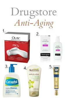 5 Drugstore Anti-Aging Products Everyone Over 30 (and Smart 20-Somethings) Should Have