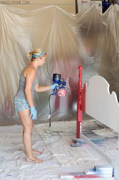 HomeRight Finish Max Fine Finish HVLP Paint Sprayer - so easy even someone who has never painted anything was able to use it