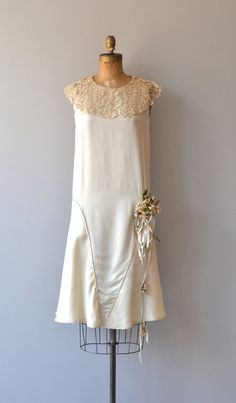 Annecy wedding dress 1920s wedding dress vintage by DearGolden