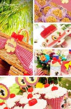 Picnic Themed 9th Birthday Party via Karas Party Ideas | KarasPartyIdeas.com #picnic #summer #9th #birthday #party #ideas