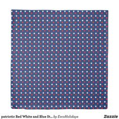Shop patriotic Red White and Blue Stars Duvet Cover created by EvcoHolidays. Pattern Images, Kidsroom, Duvet Covers, Red And White, Bedroom Decor, Stars, Prints, Blue, Color