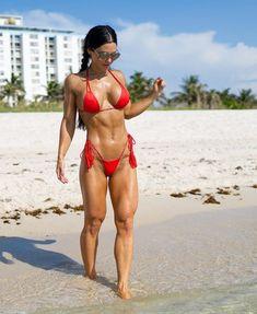 Sexy Bikini, Bikini Girls, Vaquera Sexy, Anita Herbert, Mode Du Bikini, Ripped Girls, Muscular Women, Muscle Girls, Moda Fitness