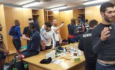 [vidéo] La joie après le succès face à l'Amiens SC