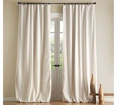 Draperies, Patterned Curtains & Patterned Drapes | Pottery Barn