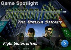 Syphon Filter: The Omega Strain - Fight bioterrorism.