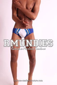 RMUNDIES by Ramona-Marlene Couture. Swimwear and underwear designed for the well HUNG man. ramona-marlenecouture.com