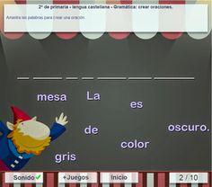 Construcción de frases 4