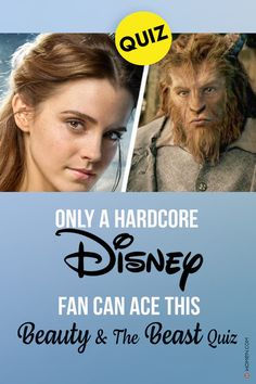 Find out if you're as big a fan of Beauty & the Beast as you think you are by answering questions about it. #disney #disneyquiz #beautyandthebeast